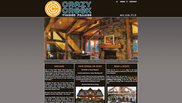 Crazy Creek Timber Frames