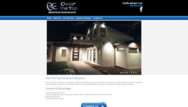 Over The Top Electrical Contractors