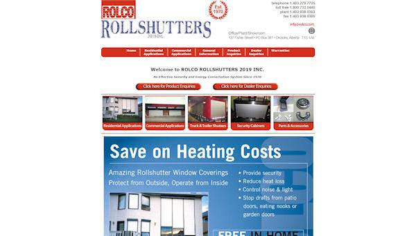 ROLCO Rollshutters Inc Logo