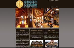 Crazy Creek Web Design